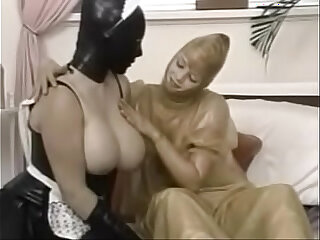 Latex fetish XXX video category with latex-clad amateurs models