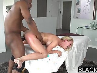 BLACKED Hot Southern Blonde Cherie Deville Takes Big Black huge Cock
