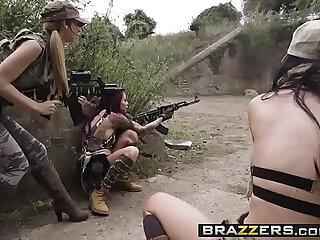 Pornstars Like it Big Cock Of Duty A XXX Parody scene starring Jasmine Jae Monique Alex
