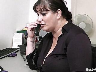 Secretary porn clips featuring slutty typists, receptionists, etc.