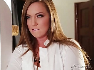 Impressive sex video with hot lezzies