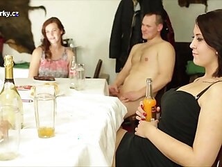 Crazy party with her nice vaginas and tits. Worth to watch!