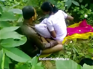 Young couple fucking whore in India forest new