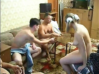EVERYBODY FUCKS EACH OTHER, CUMS TOGETHER
