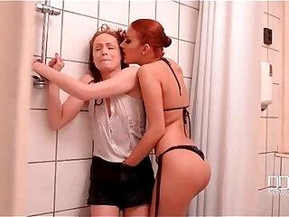 Aylin Diamond And Sophie Lynx Lesbian Bondage Trap