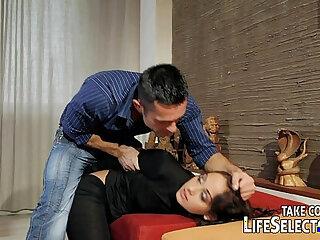 Punish, tie up and fuck the sexy burglar properly