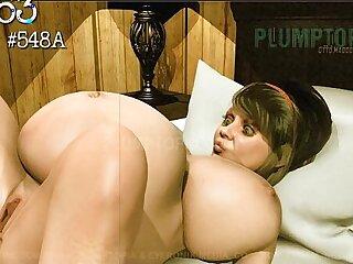 Plumptopia Animation BBW rapid pregnancy belly