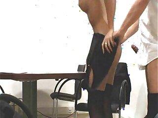 Boss impregnates his young blonde secretary full porn movie!