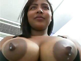 Latin slut drinking her breast milk