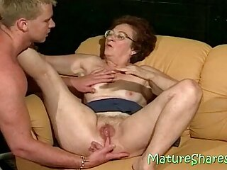 Licking a vagina