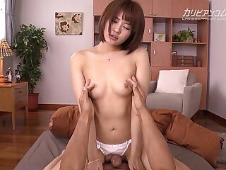 Brother Seduce Petite Step Sister in Thong to First anal Fuck