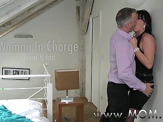 MOM Mature takes charge of her man