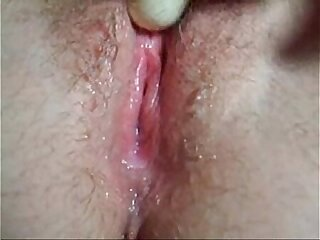 x porn wet pussy masturbation close up, nice