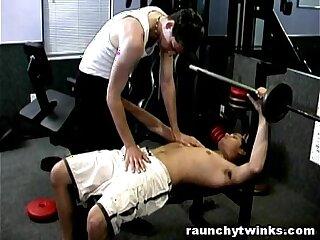 Hot Sexy Men Gym Sexercise