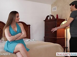 Brunette lesbian babe Dani Daniels fucking