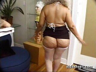 Mature MILF Granny in kinky hardcore action