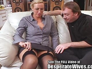 Tall Wife cunt Fucked and Spermed!