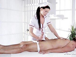 Naughty Natalee Nurses a Hard long big Cock