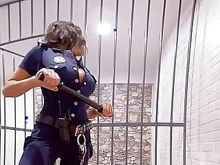 August Ames Get fucked hard in prison
